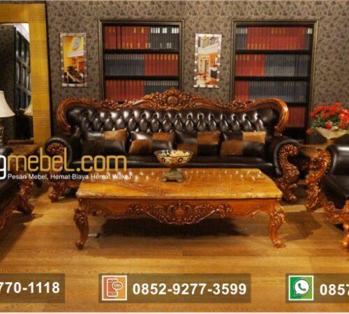 Kursi Tamu Sofa Mewah American Baroque Royal
