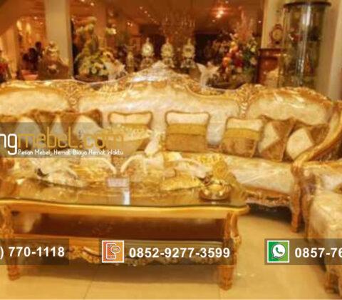 Kursi Tamu Sofa Model Olimpia