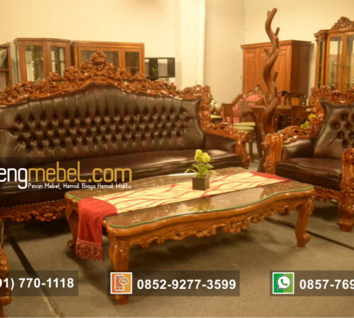 Kursi Tamu Sofa New Barcelona Forest Piala