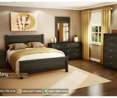 Jual Set kamar tidur minimalis modern natural
