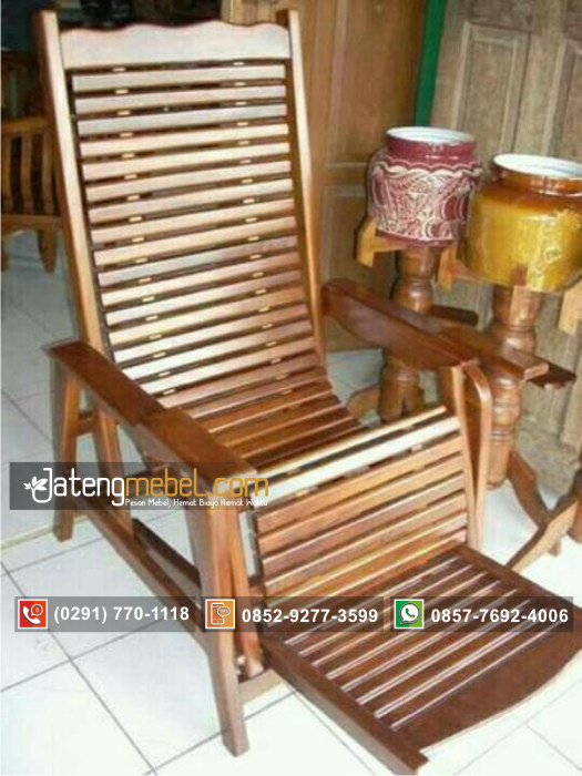 Toko Furniture Jual Kursi Goyang Krepyak Kayu Jati Harga