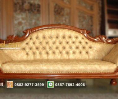 Toko Furniture Terpercaya Jual Kursi Sofa Mawar Ukir