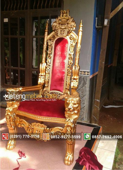 kursi-sofa-tunggal-raja-singa-emas