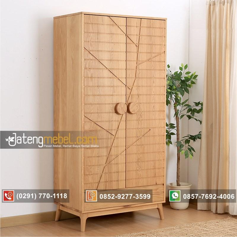 lemari-pakaian-minimalis-pintu-2-jati-motif-batang-pohon