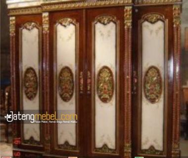 Lemari Rahwana Kanopi Airbrush 4 Pintu