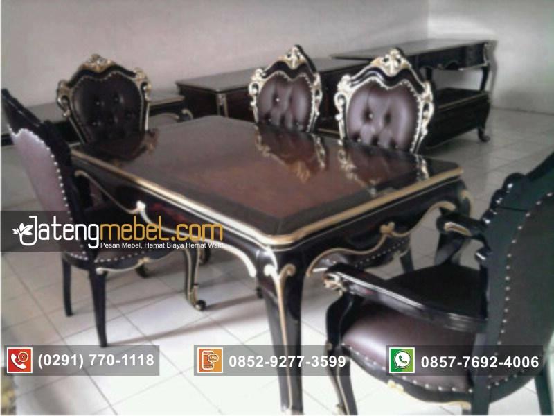 meja-makan-duco-hitam-klasik