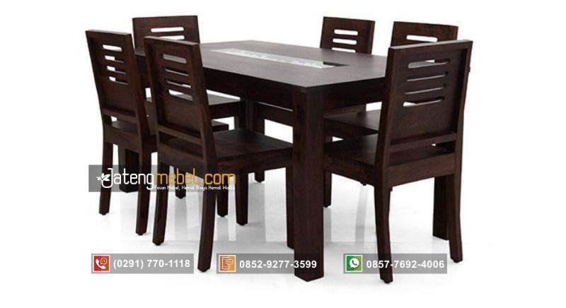 meja-makan-minimalis-modern-jati-batu-kerang