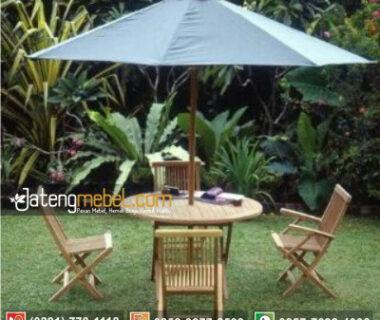 Meja Payung Taman Dan Kursi Lipat