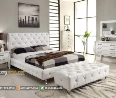 Set Kamar Tidur Modern Putih Snow White
