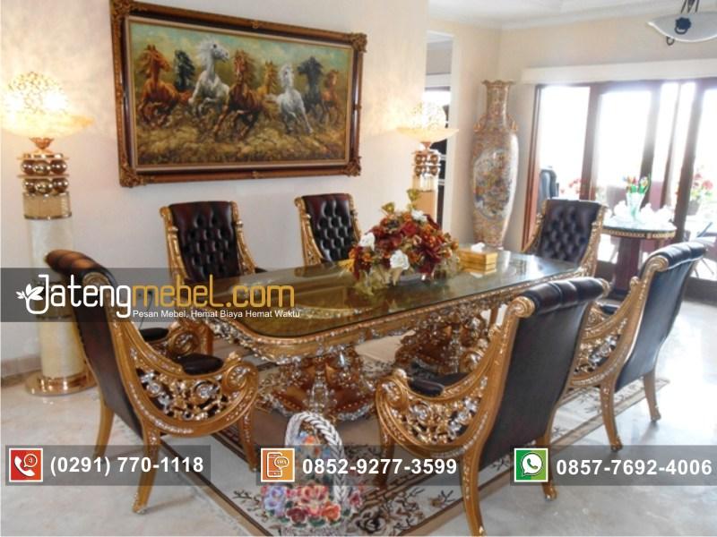set-meja-makan-ukiran-raffi-ahmad-mewah-emas-airbrush