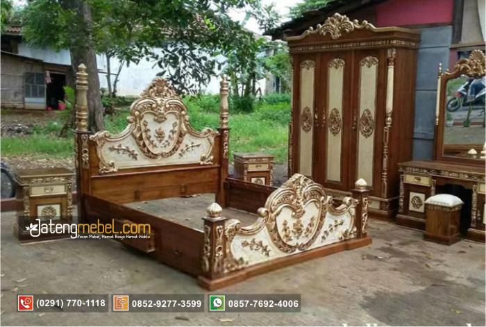 Set Tempat Tidur Manohara Ukiran Love