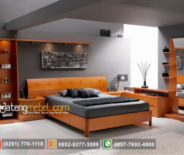 Set kamar tidur minimalis modern picturesque