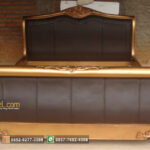 Tempat Tidur Bagong Finishing Gold Jok Oscar