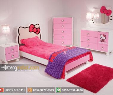 Set Tempat Tidur Perempuan Hello Kitty