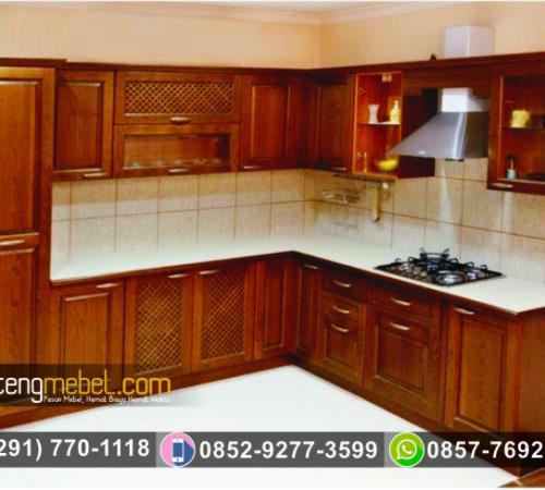 Kitchen Set Minimalis Natural