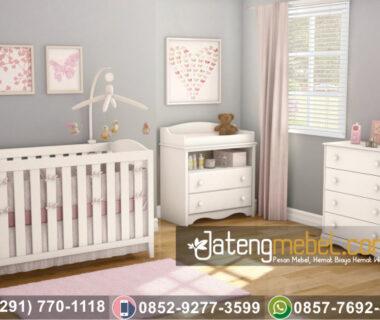 Box Bayi Minimalis Duco Putih Olivia