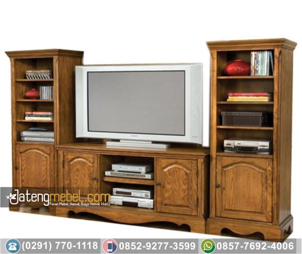 Bufet Tv Minimalis Lengkung Kuda