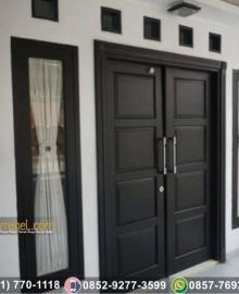 Pintu Rumah Minimalis Modern Black