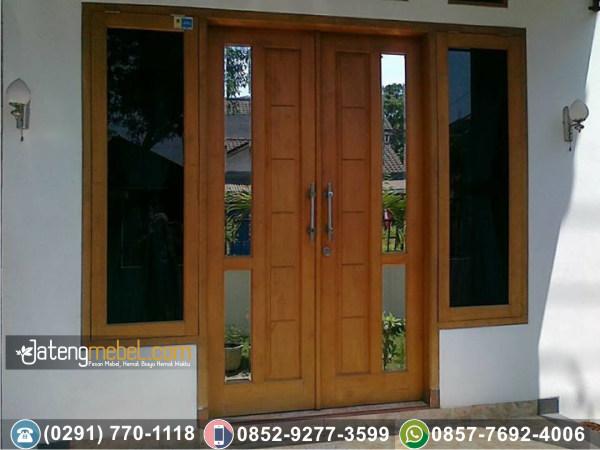 Pintu Rumah Minimalis Plus Kaca