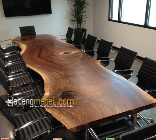 Kursi Meja Trembesi Meh Solid Wood Alton
