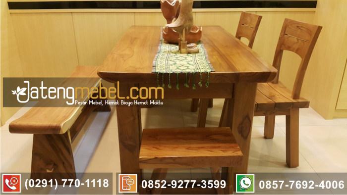 kursi meja trembesi kayu meh solid wood termurah Kulonprogo
