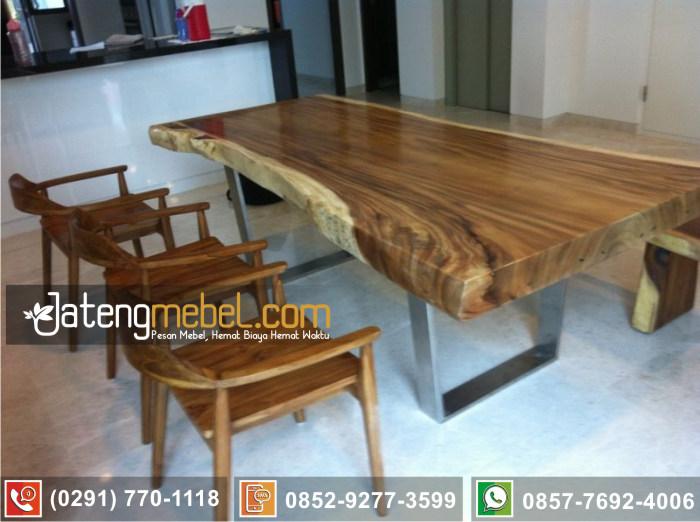 kursi meja trembesi kayu meh solid wood termurah Trenggalek