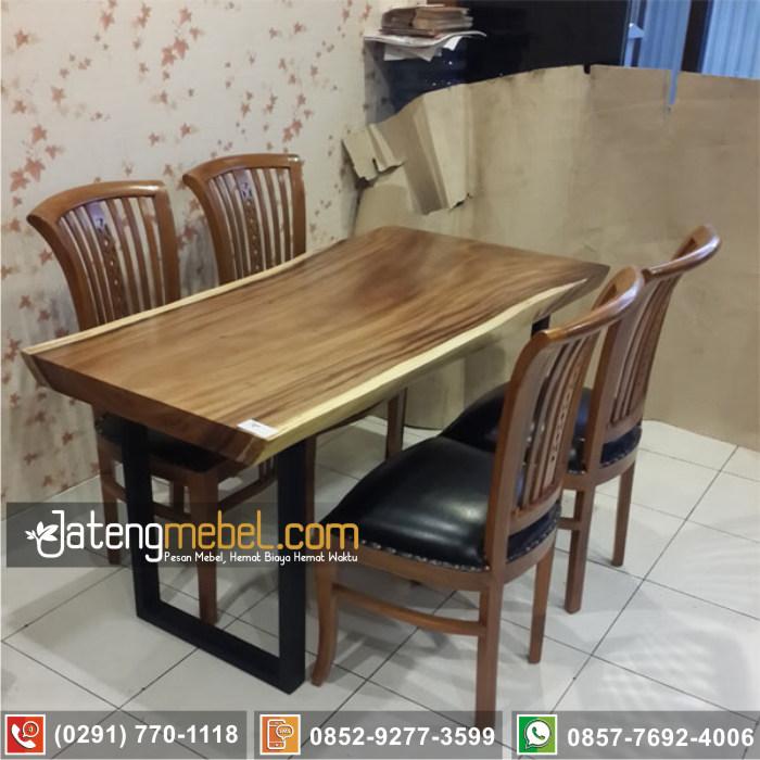 kursi meja trembesi kayu meh solid wood termurah Serang