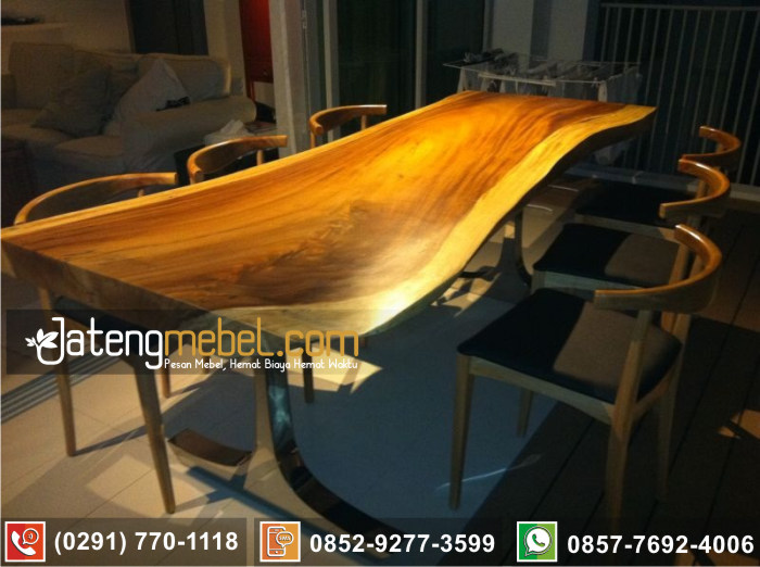 kursi meja trembesi kayu meh solid wood terpercaya Situbondo