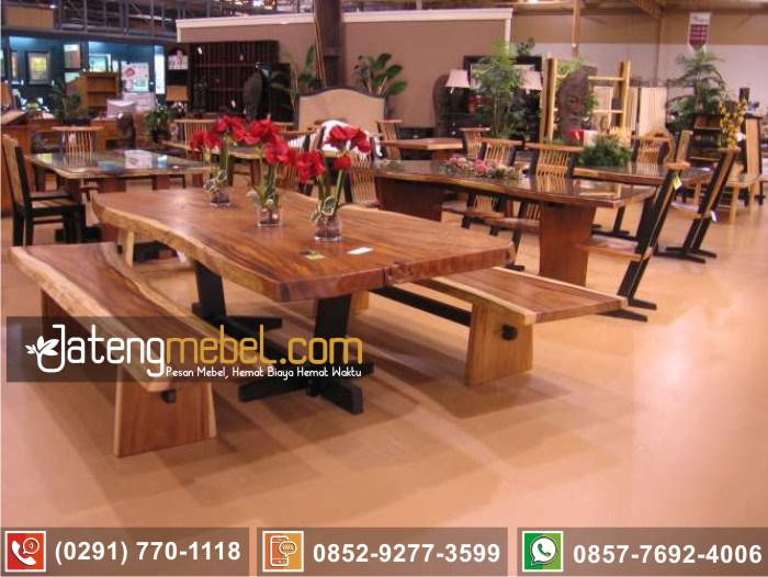 kursi meja trembesi kayu meh solid wood terlengkap Kulonprogo