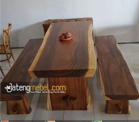 Kursi Meja Trembesi Meh Solid Wood Irvona