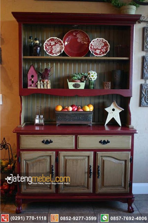 Bufet Lemari Dapur Karanganyar Termurah