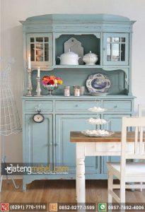 Bufet Dapur Minimalis Classic Blue