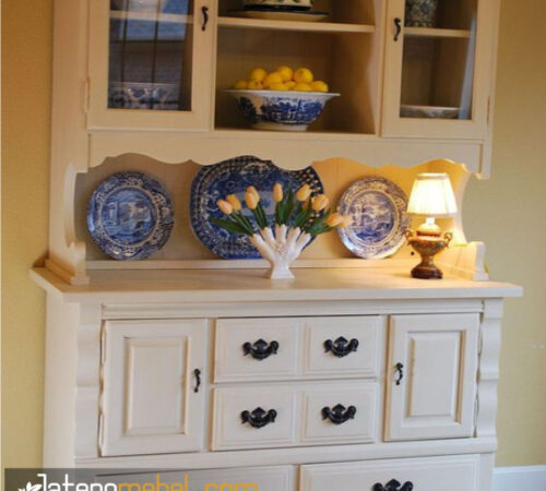 Lemari Dapur Classic Putih
