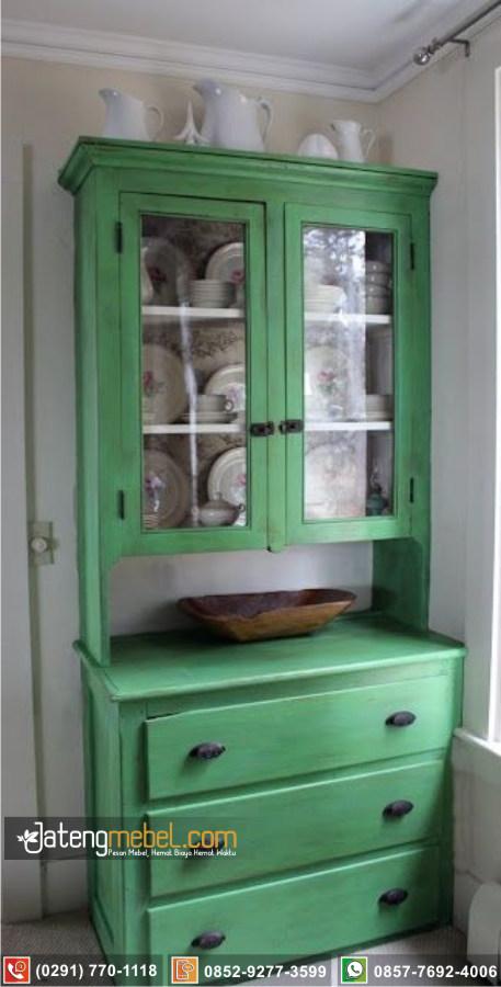 Bufet Lemari Dapur Batang Klasik Mewah