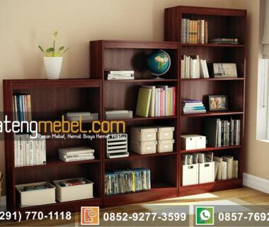 Lemari Buku Jati minimalis Chalfant