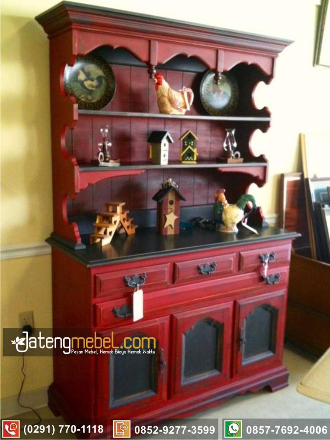 Bufet Lemari Dapur Temanggung Klasik Mewah