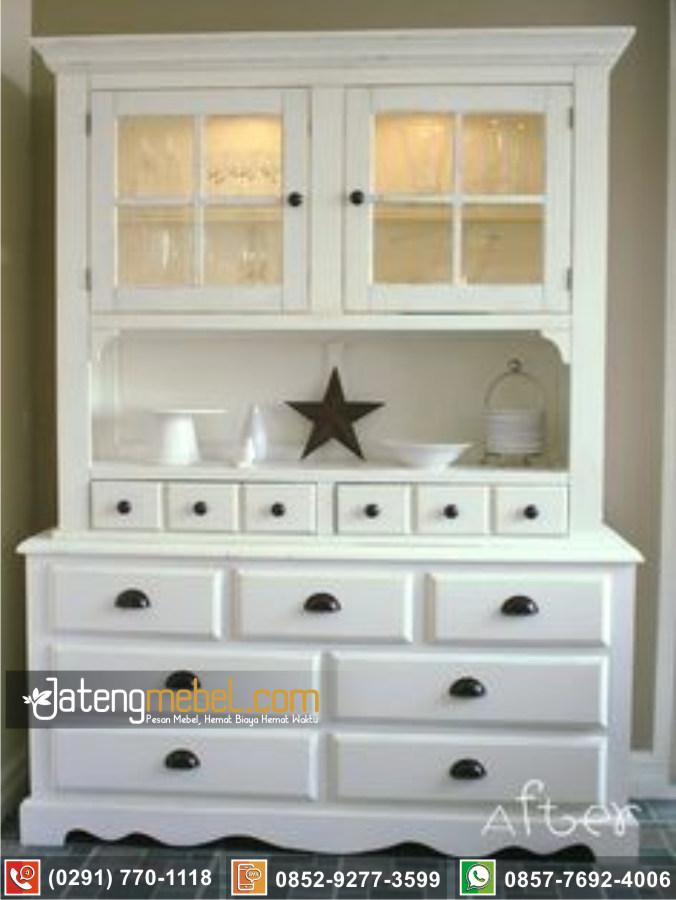 Bufet Lemari Dapur Karanganyar Klasik Mewah