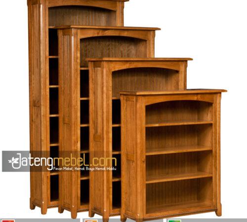 lemari Buku Jati minimalis Narberth