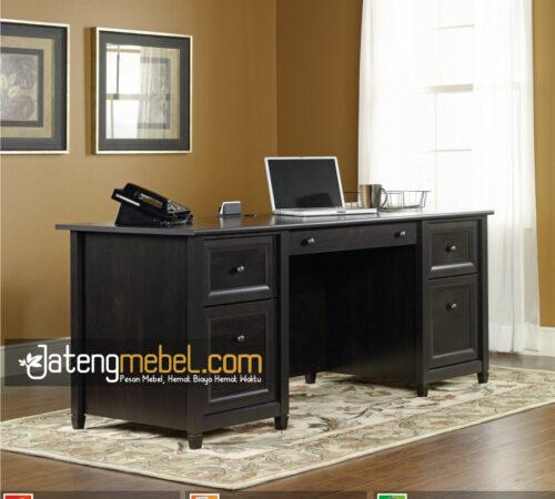 Meja Kantor Minimalis 5 Laci Elderton