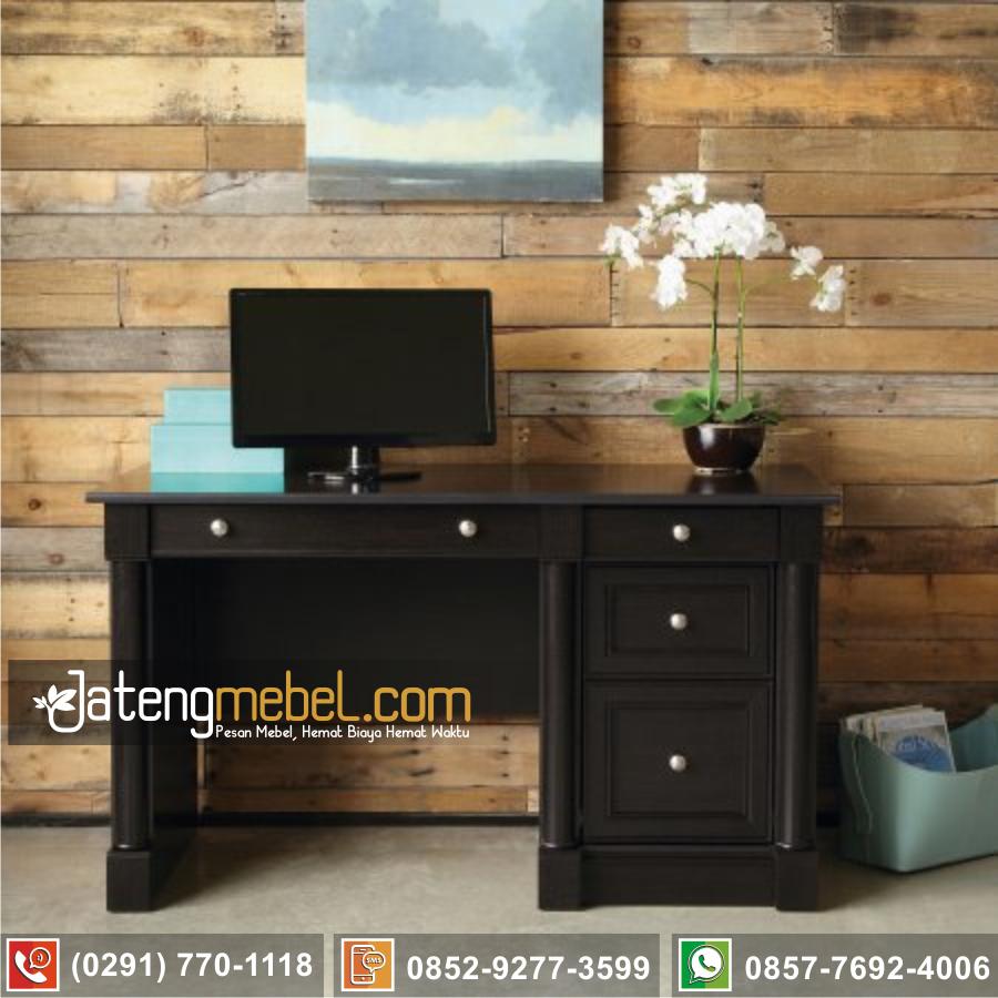 meja kantor belajar jati Tulungagung
