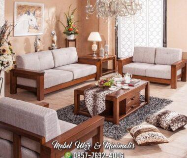 Kursi Tamu Sofa Minimalis Jok Custom