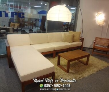 Kursi Tamu Sofa Minimalis Model Sudut L