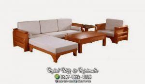 Kursi Tamu Sofa Minimalis Sisi Kursi Majalah