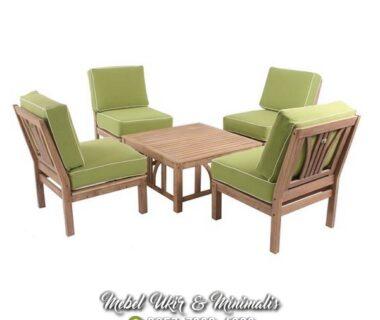 Kursi Tamu Sofa Minimalis Satuan Tanpa Tanganan