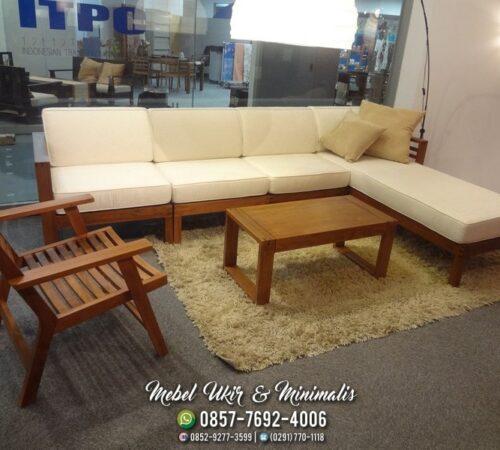 Kursi Tamu Sofa Minimalis Busa Empuk L