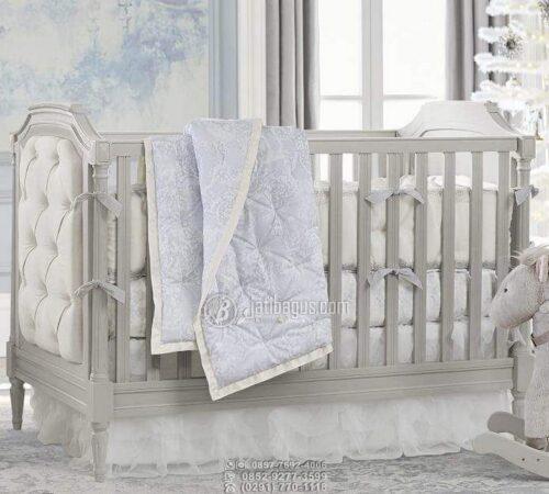 Tempat Tidur Bayi Sultan Minimalis Ukir